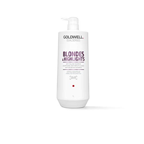 Blondes & Highlight Anti-Yellow Shampoo Gentle FadeStop Color Protection - 33.8oz ()