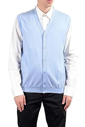 size 40 b73f8 def9b Kiton Napoli Men's Cashmere Silk Light Blue Button Up ...