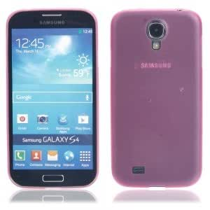 Ultra-thin Plastic Protective Case for Samsung S4/i9500 Rose Red