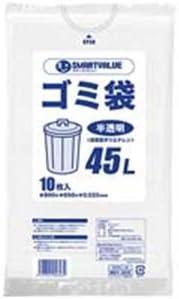 ジョインテックス ゴミ袋 LDD半透明 45L 600枚 N209J-45P 生活用品 インテリア 雑貨 日用雑貨 掃除用品 top1-ds-1304206-sd5-ah [独自簡易包装]