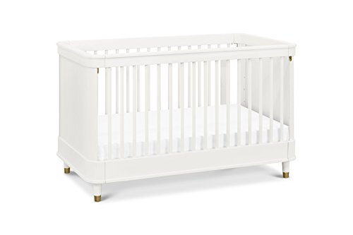 Million Dollar Baby Tanner 3-in-1 Convertible Crib, Warm White