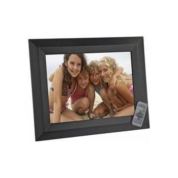 Amazoncom Sunpak 15 In Digital Photo Frame Blk Wood Electronics