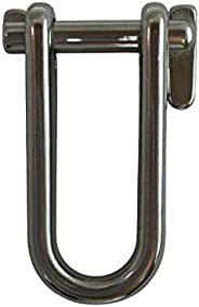 """Stainless Steel 316 Key Pin Shackle 8mm (5/16"""") Marine"""