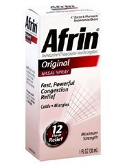 Afrin Nasal Spray Original 3 ct 1 oz