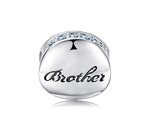 263c07b73 EVESCITY Many Styles Silver Pendents 925 Sterling Beads Fits Pandora,  Similar Charm Bracelets & Necklaces