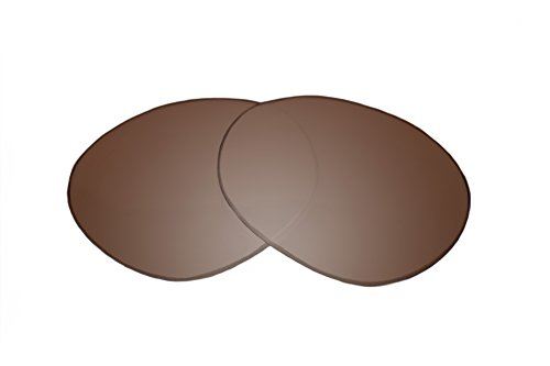 SFx Replacement Sunglass Lenses fits Tom Ford Miranda TF130 68mm Wide (Ultimate Brown Gradient Hardcoat ()