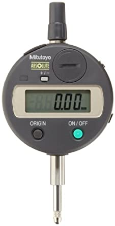 Mitutoyo Absolute LCD Digimatic Indicator ID-S, Metric, M2.5X0.45 Thread, 8mm Stem Diameter