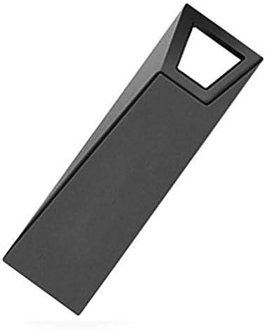 Computer USB Flash Drivers 4GB USB 2.0 High-Speed Interface Metal Waterproof Flash Disk Data Stroage Color : Black Black