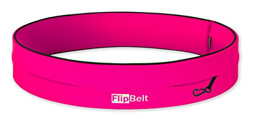 FlipBelt Level Terrain Waist Pouch, Hot Pink, X Large/35 38""