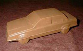 3D Chocolate Luxury Sedan Car