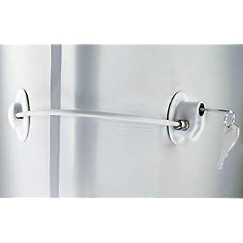 Amazon Com Refrigerator Door Lock With 2 Keys File