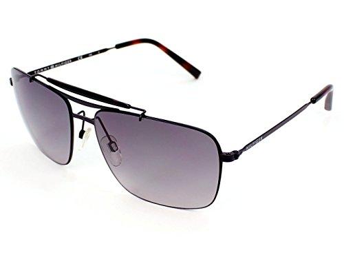 Tommy Hilfiger 1117 (0003EU) Matte Black w/ Gray Gradient Lens - Tommy Hilfiger Men Sunglasses