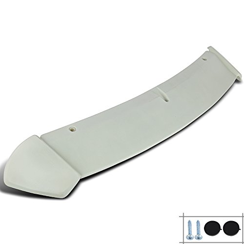 (Spec-D Tuning SPL-YAR063ABS-HD Toyota Yaris Hatchback ABS Rear Roof Top Spoiler Wing Factory Style )