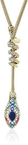 Pave Snake Necklace - 8