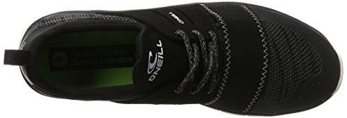 O'Neill Fusion Lt Multi Mesh Textile, Zapatillas Hombre Negro (Black 9900)