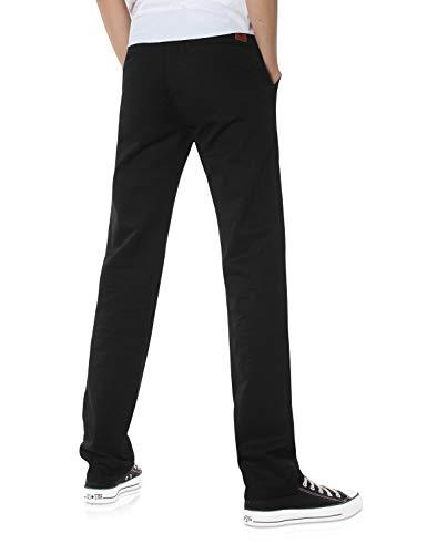 Demon&Hunter 900X Série Pantalon Chino Homme Coupe Classique à Jambe Droite