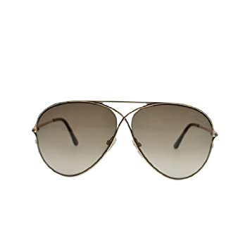 Amazon.com: Gafas de sol Tom Ford Aviator Peter TF142 ...