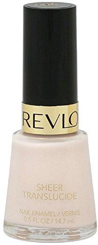 Revlon Nail Enamel, Sheer Pink 0.50 oz