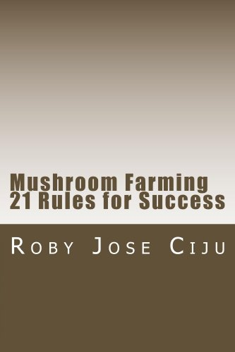 Mushroom Farming 21 Rules for Success by [Ciju, Roby Jose]