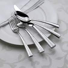 - Oneida Cabria 45-Piece Flatware Set, Service for 8