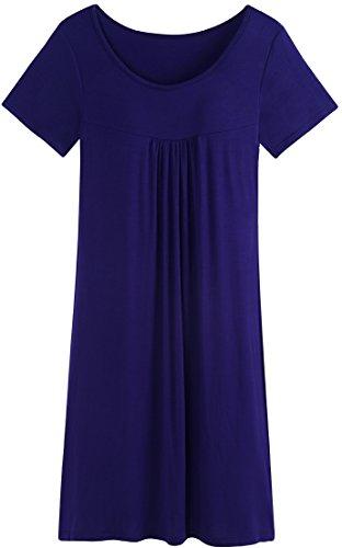 night dress built in bra - 1