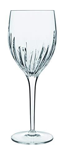- Luigi Bormioli 11020/01 Incanto 13.25 oz Red Wine Glasses (Set of 4), Clear
