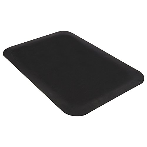 Guardian Pro Top Indoor Anti-Fatique Floor Mat, Rubber, 2'x3', Black