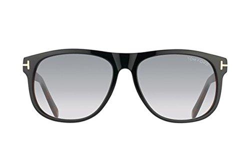 Tom Ford Sunglasses Olivier Frame: Dark Brown Lens: Grey
