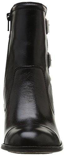 Kickers Medix - Botas de cuero mujer negro - Noir (81 Noir Pf)