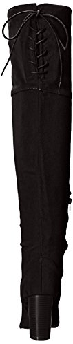 Qupid Women's Zinc-01 Slouch Boot Black VQZOC5S9rb