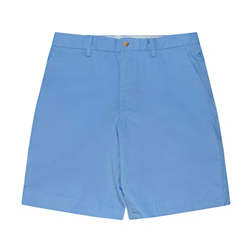 Polo Ralph Lauren Mens Stretch Classic Fit Chino Shorts (Blue, 32)