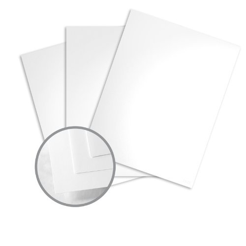 (Sterling Premium Digital White Card Stock - 8 1/2 x 11 in 80 lb Cover Gloss C/2S 10% Recycled 250 per Package)
