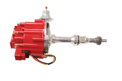Proheader PE330U - Ford 289-302 HEI Distributor with 50K Coil & Blue Cap