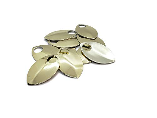 Scalemail Armor Scales - Anodized Aluminum in Multiple Colors (Gold Mirror) by TheRingLord