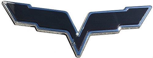 C6 Corvette Emblem Complete Blackout Pair - Acrylic