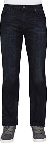 Calvin Klein Jeans Men's Straight Leg Jean, Osaka Blue, (Relaxed Straight Leg Jeans)