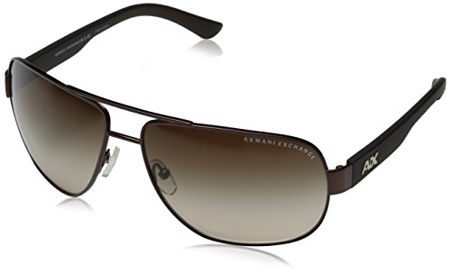 7a52fbb47ba Armani Exchange Men s Metal Man Sunglass 0AX2012S Aviator Sunglasses