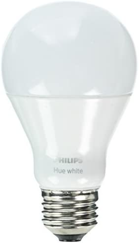 Philips Hue White A19 60W Equivalent Single LED Light Bulb