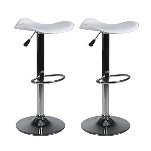 Milliard Bar Stools   Set of 2   Height Adjustable 21.5