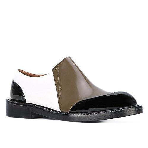 Marni Women's MOMSW05C03LV588ZI927 Multicolor Leather Loafers