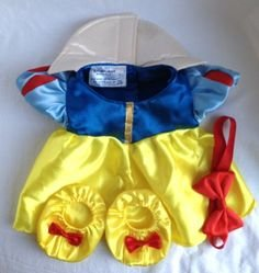 Build A Bear Disney Snow White Costume