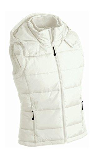 Vest Men's Staccabile Gilé Padded Cappuccio Trapuntato Con Natural tatqIY