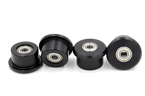 Total Gym Replacement Set of 4 Wheels//rollers for Models XL XLS and Fit