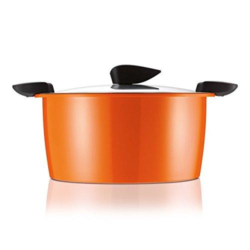 Kuhn Rikon''Hotpan'' 3L Kitchen Starter set, 8.66'', Orange/Red