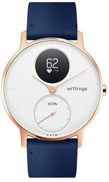 Withings Steel HR Hybrid Smartwatch - Activity, Sleep, Fitness and Heart Rate Tracker