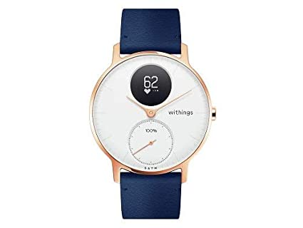 Withings Steel HR Rose Gold Reloj Conectado, Unisex Adulto