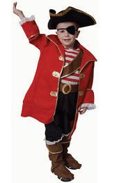 Deluxe Pirate Captain Costume Set - Toddler T4