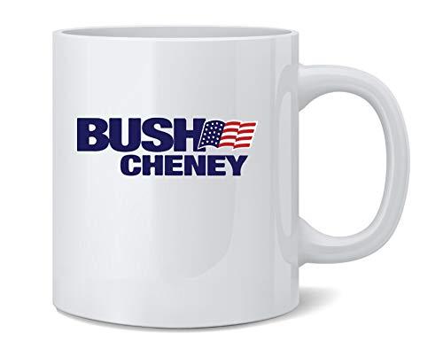 George W Bush Dick Cheney President Campaign Retro Coffee Mug Tea Cup 12 oz