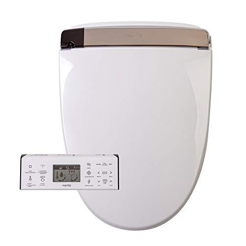 KOHLER BH93-N0 Novita Electric Round Toilets with Remote Control Bidet Seat, White -