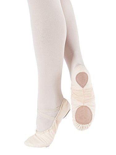 So Danca–Zapatillas de ballet Lino Spandex Guante Weiß